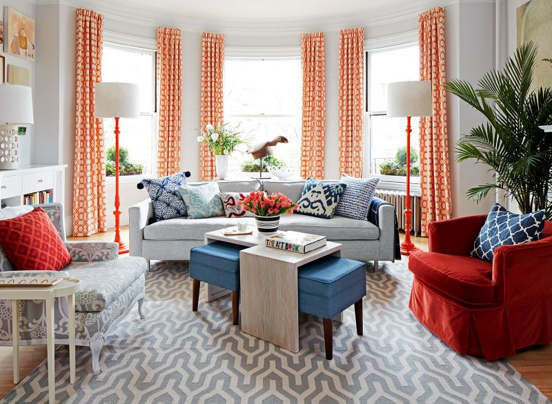 colorful living room redesigning your home natural light