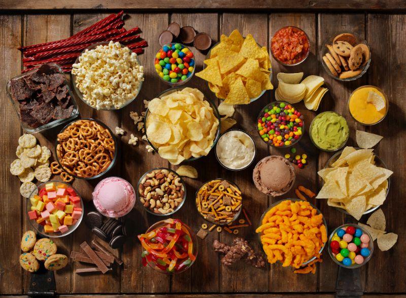 different kinds of junk food liver detox
