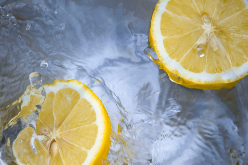 lemon slices in water benefits of drinking lemon water