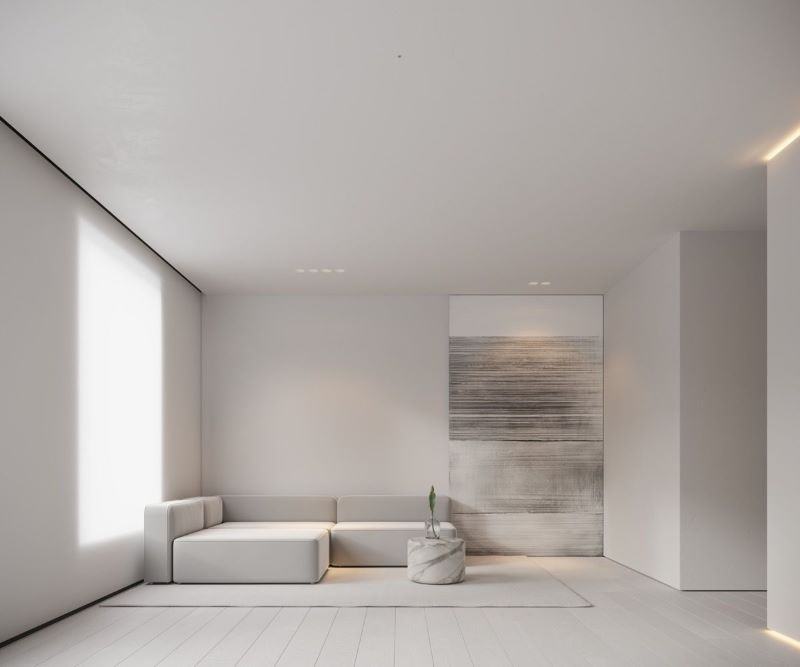 minimalist design redesigning your home in white