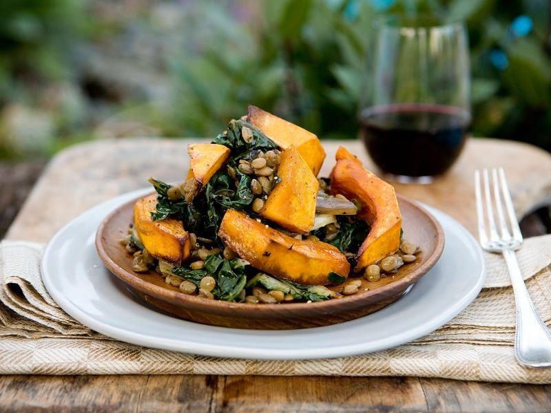 pumpkin baking recipes salad with seeds