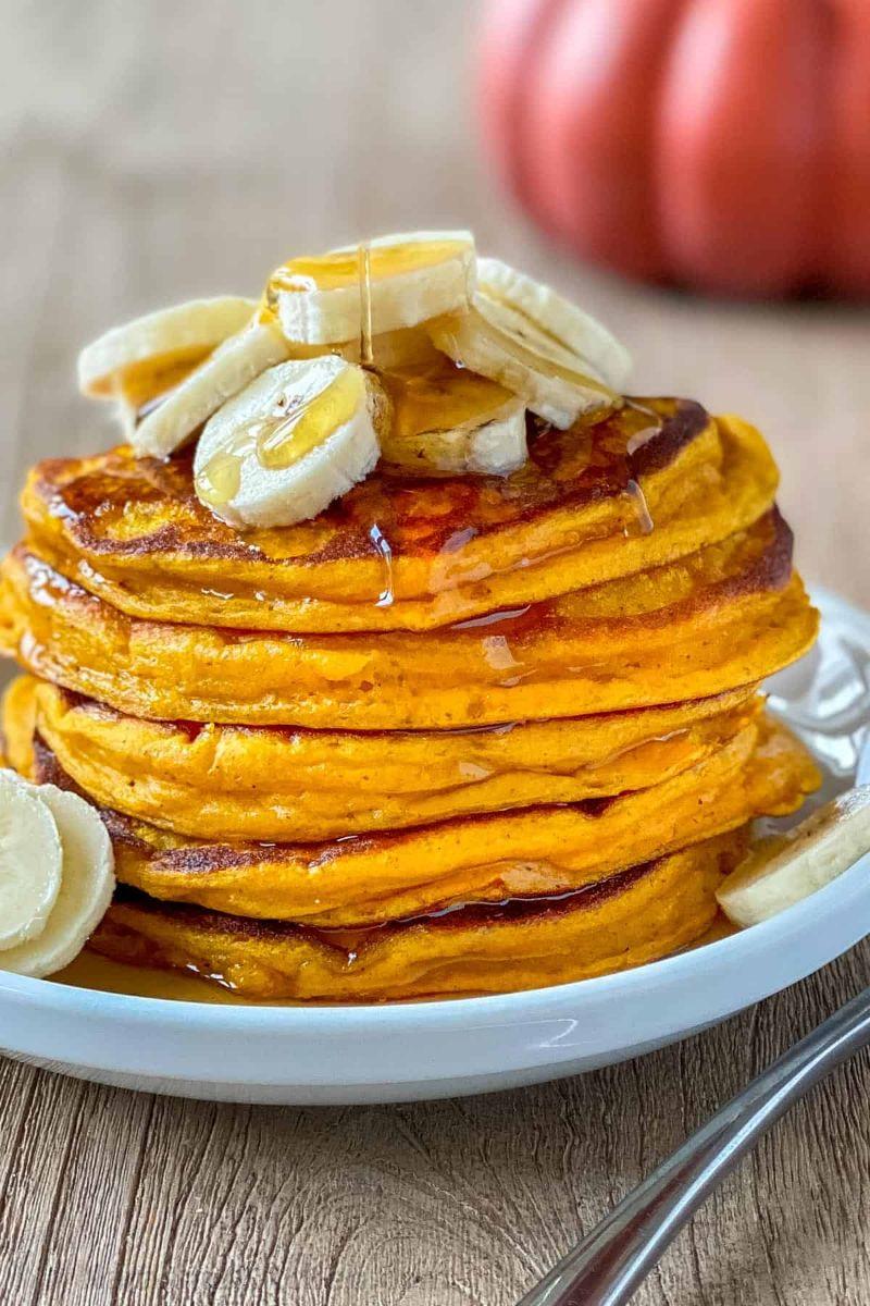 pumpkin pancakes healthy pumpkin recipes with bananas