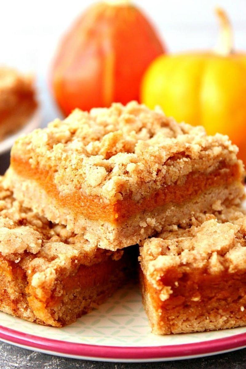 pumpkin pie bars healthy pumpkin recipes