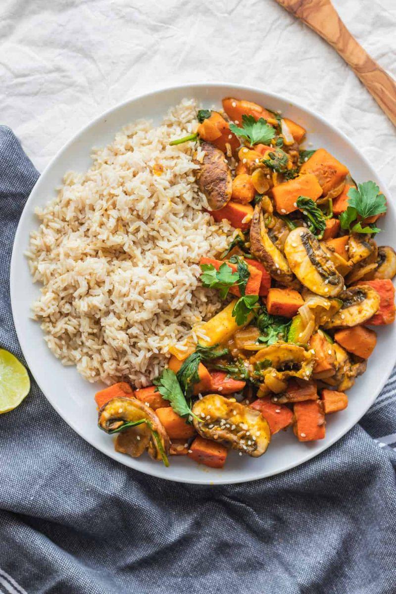 pumpkin stir fry pumpkin recipes with rice