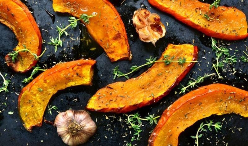 roasted pumpkin slices pumpkin baking recipes
