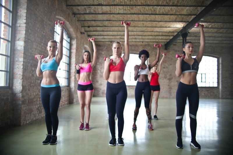 aerobics class health and fitness advice