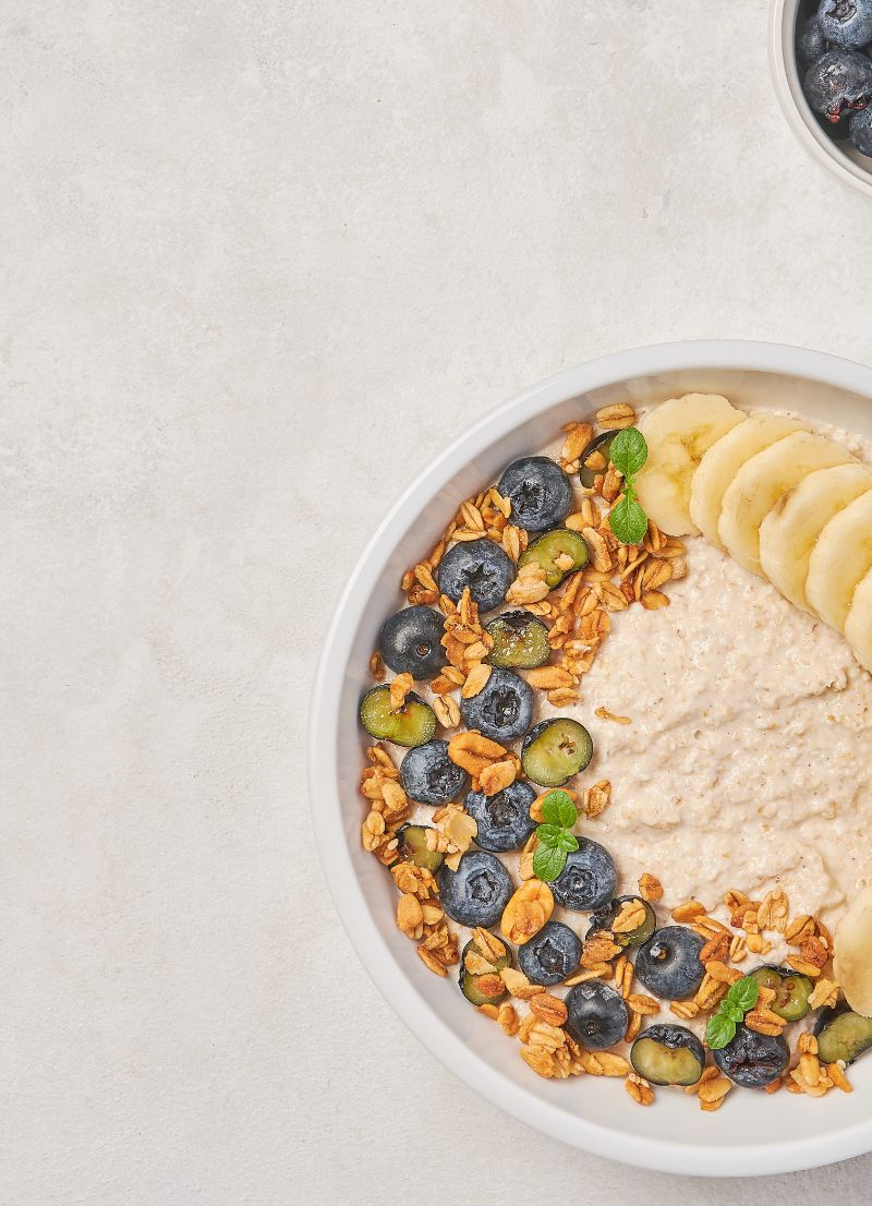 berries bananas is oatmeal good for weight loss