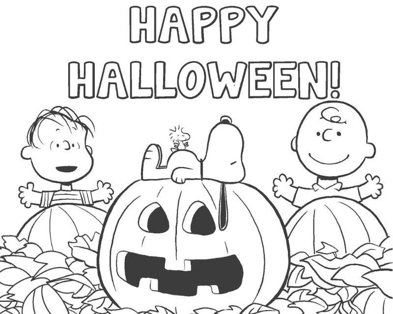 charlie brown snoopy free halloween printables