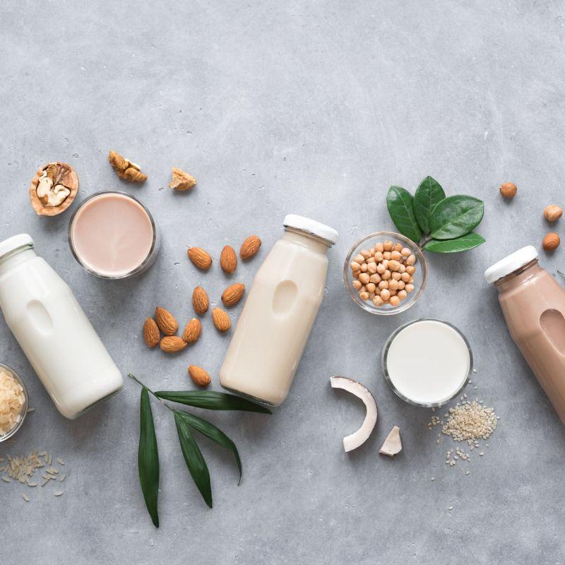bottles of milk how to make oat milk