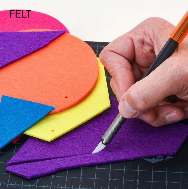 craft knife cutting felt crafting tool