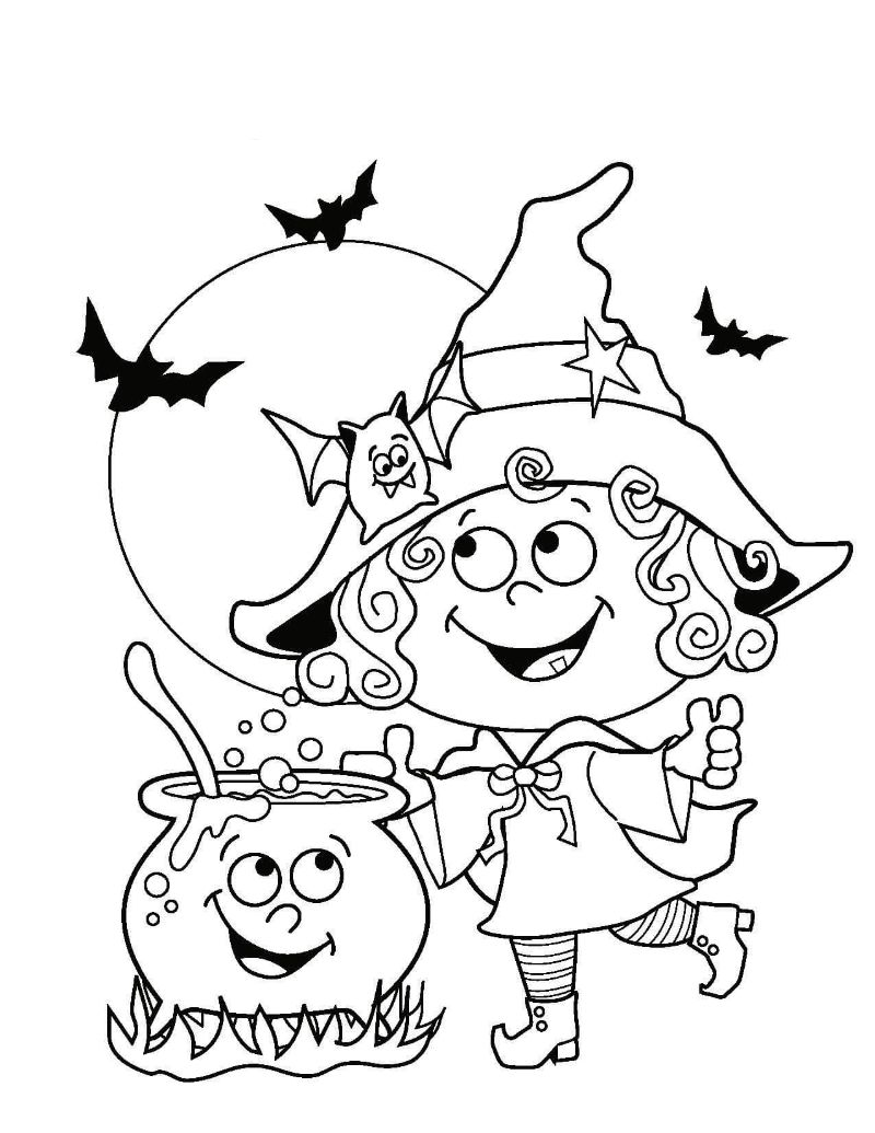 cute witch free halloween printables magic potion