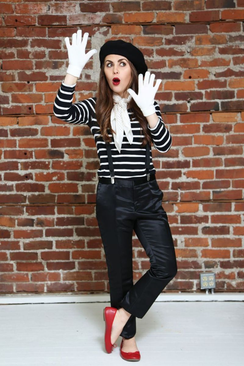 french mime halloween costume ideas for women
