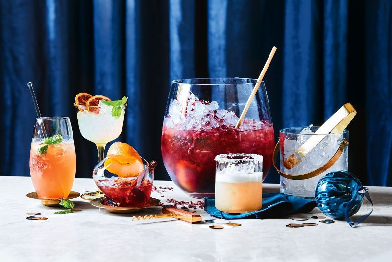 gin cocktail recipes christmas cocktails