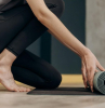 health and fitness advice woman with yoga mat