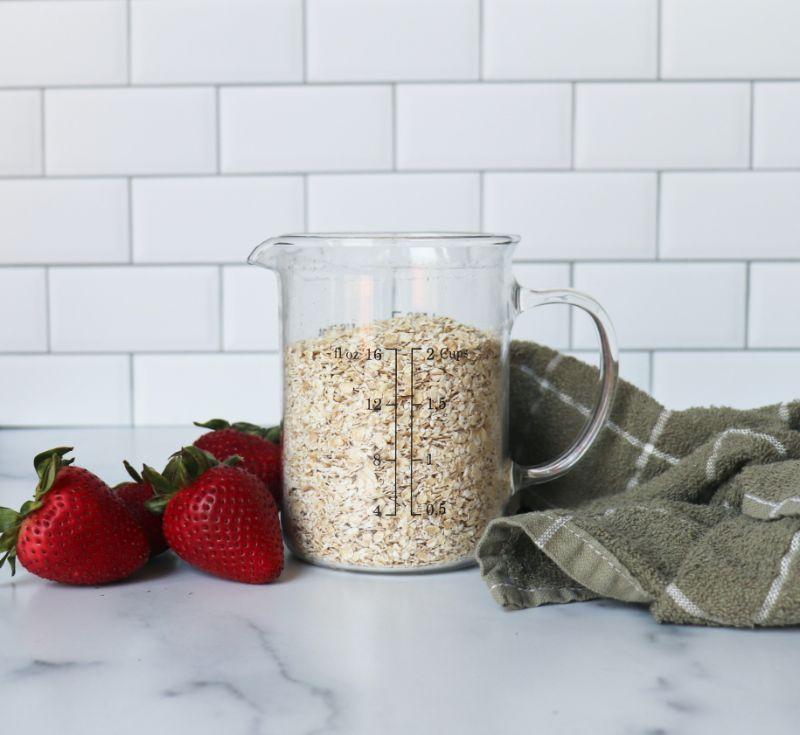 jug full of oats oatmeal health benefits